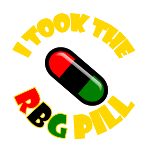 the original notorious rbg pill w yellow text