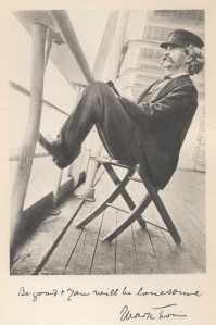 """Mark Twain from his book """"Following the Equator: A Journey Around the World"""