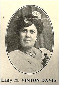 UNIA International Organizer, Black Star Line Director and BSL Second Vice President The Honorable Lady Henrietta Vinton Davis.