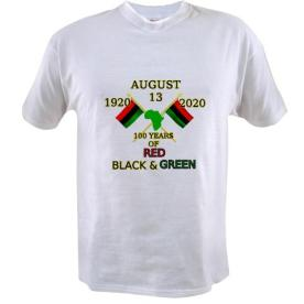 The first 100 years of Red, Black and Green T-shirt $14.99 http://www.cafepress.com/keyamsha.1626777167