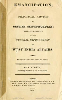 emancipation-or-practical-advice-to-british-slave-holders-with-suggestions-for-the-general-improvement-of-west-india-affairs-by-t